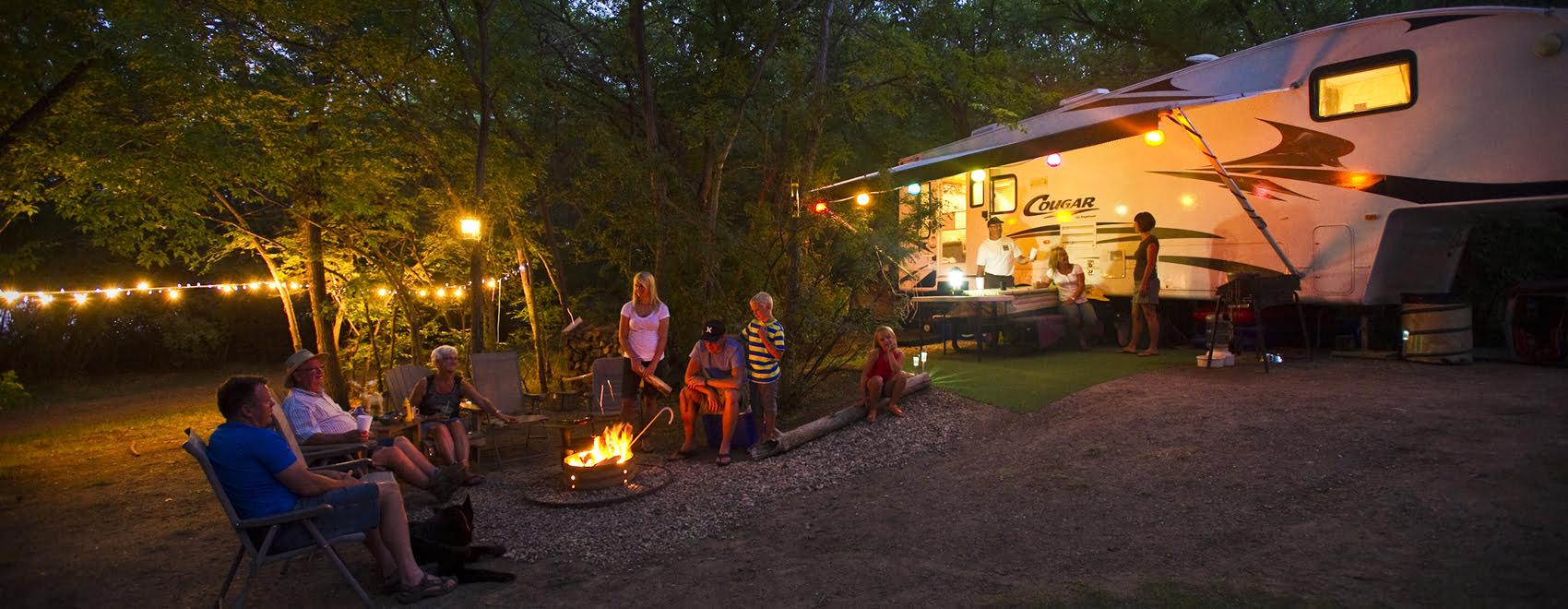 Saskatchewan Landing Provincial Park - Camping - Tourism Saskatchewan Paul Austring