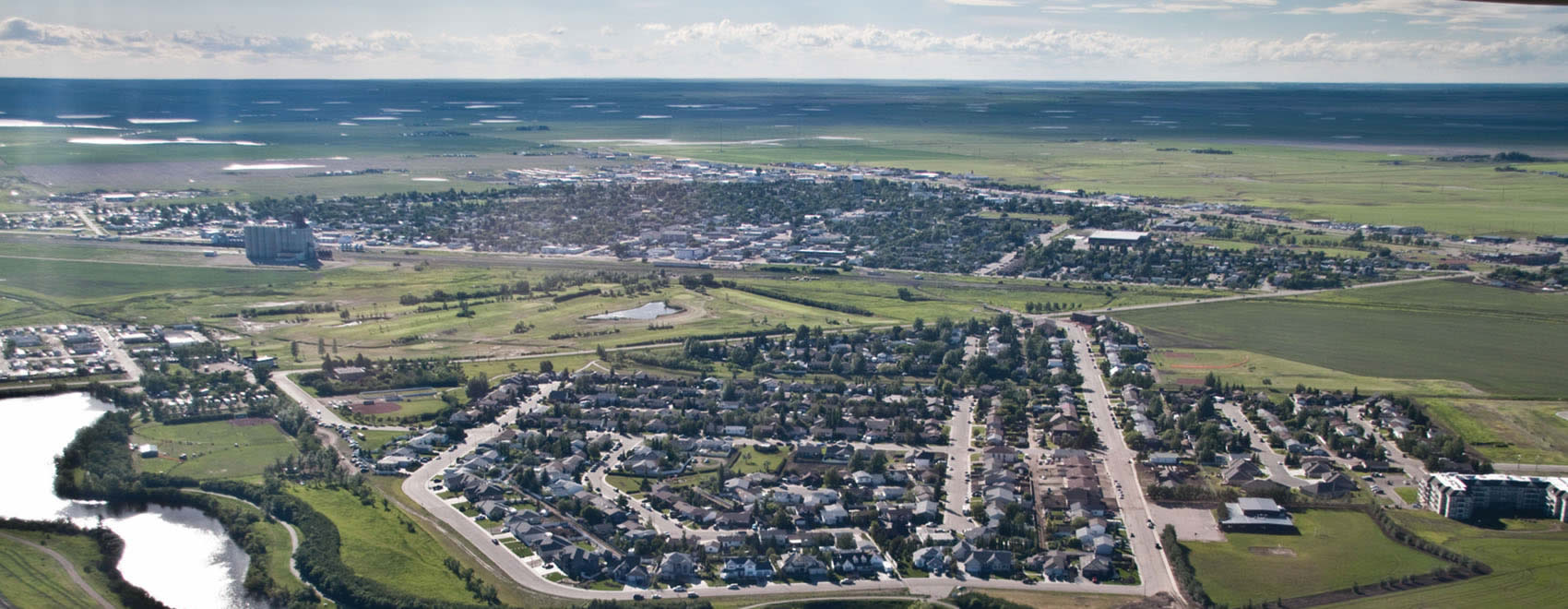 Town of Kindersley - Aerial View