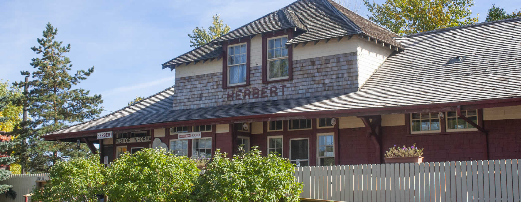 Herbert CPR Train Station Museum