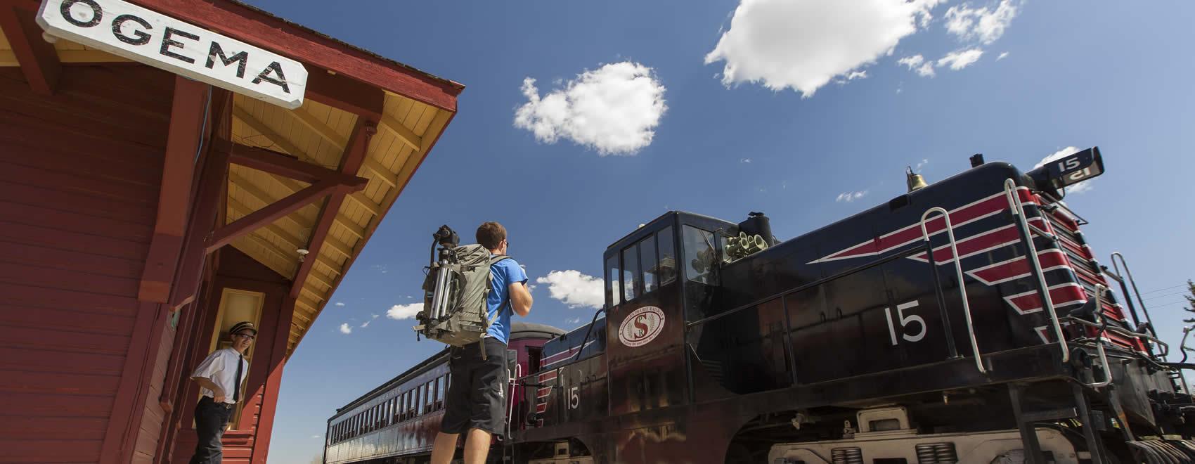 Southern Prairie Railway Ogema