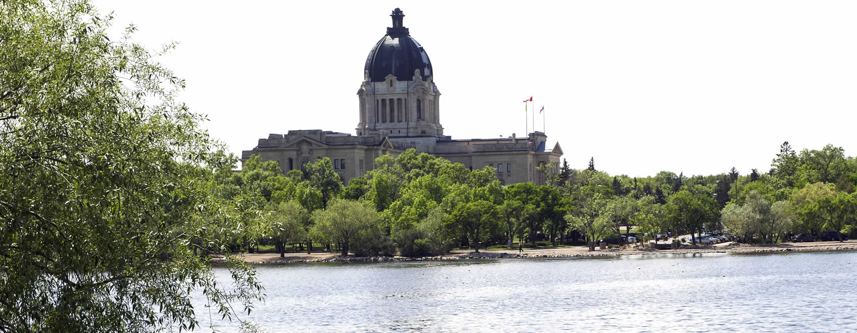 Tourism Regina - Wascana Lake and Provincial Legislature