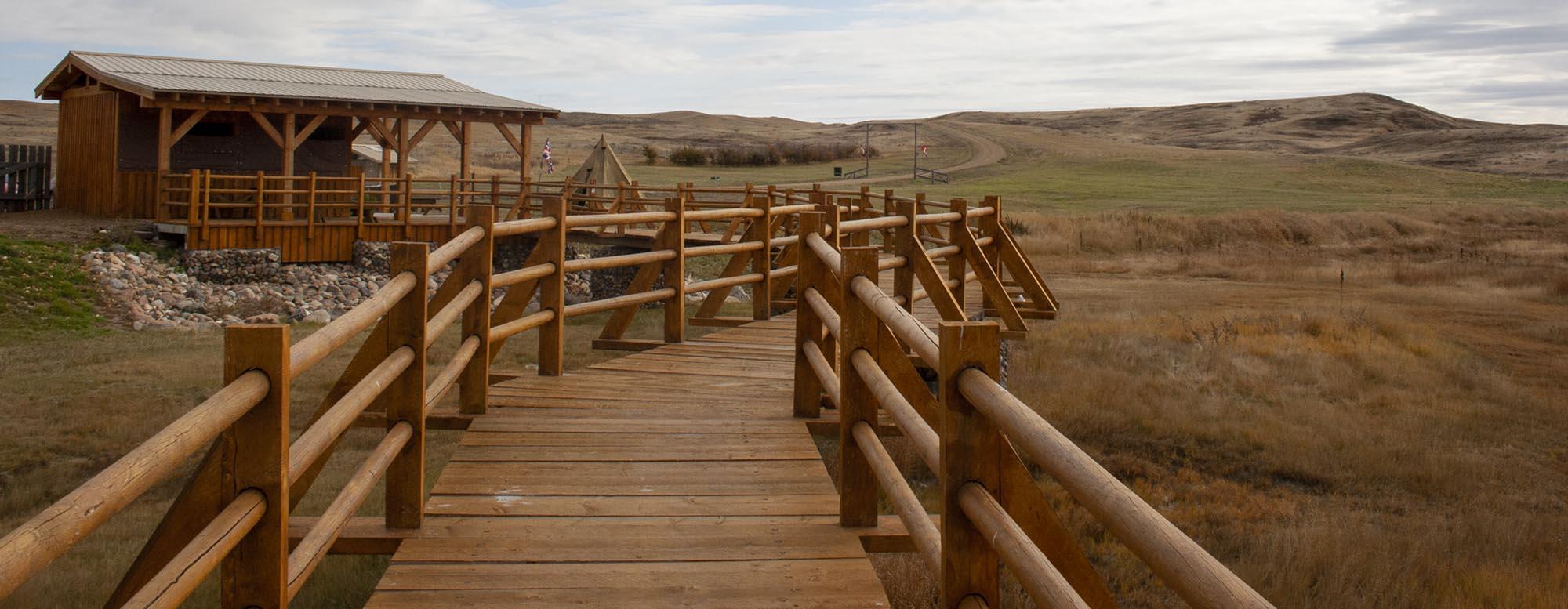 Rock Creek Campground Grasslands National Park