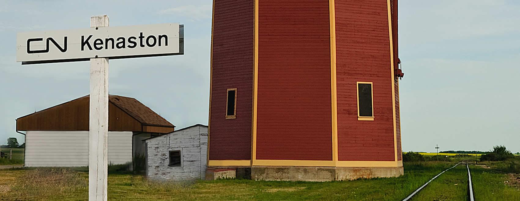 Kenaston CN Water Tower