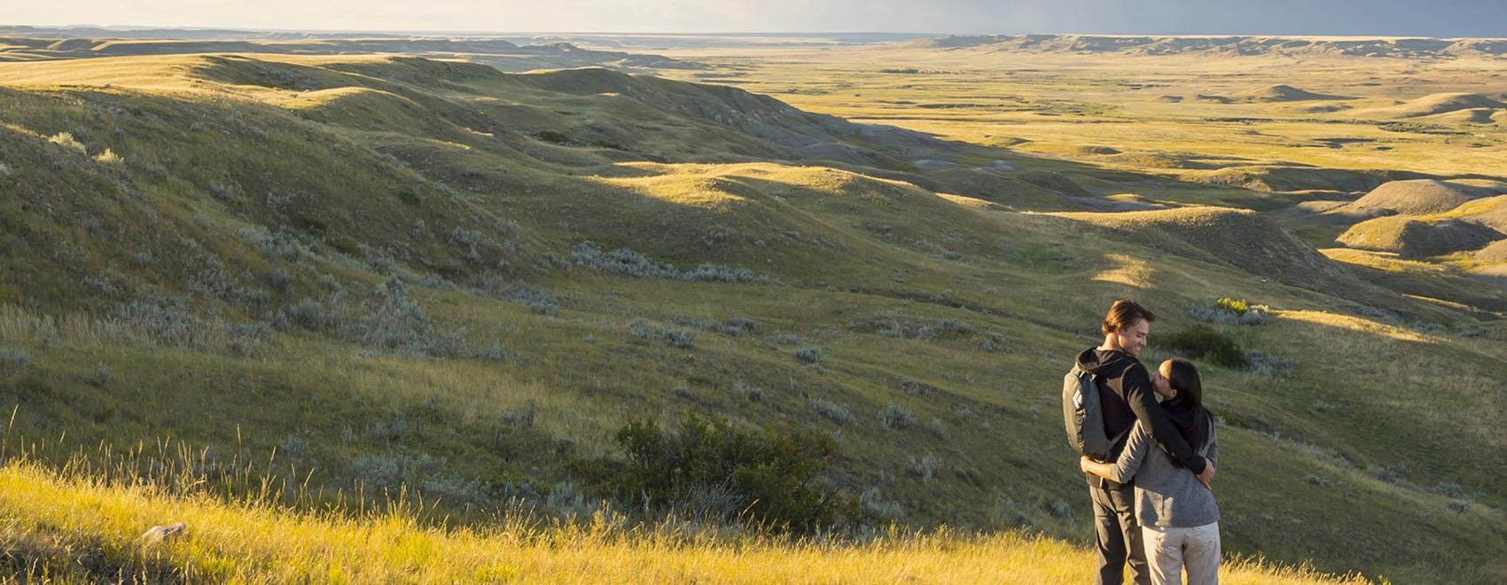 70 Mile Butte at Grasslands NP - Photo courtesy Tourism Sask